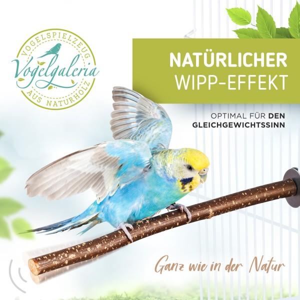 5 herrliche Naturholz Sitzstangen für Wellensittich, Nymphensittich Co.